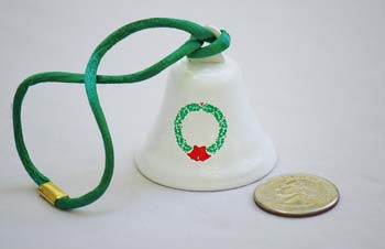 Wreath Christmas Bell Ornaments