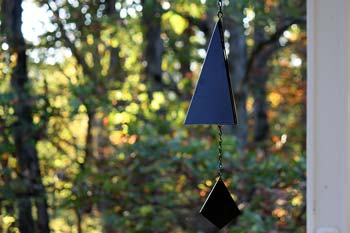 Triangle Garden Bells