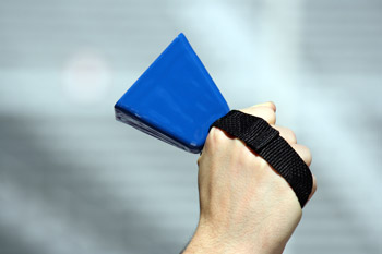 Blue Football Cowbells