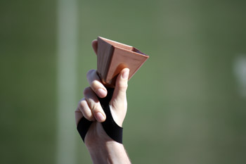 Copper Football Cowbells