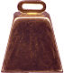 Cow Bell Coppered (Large)